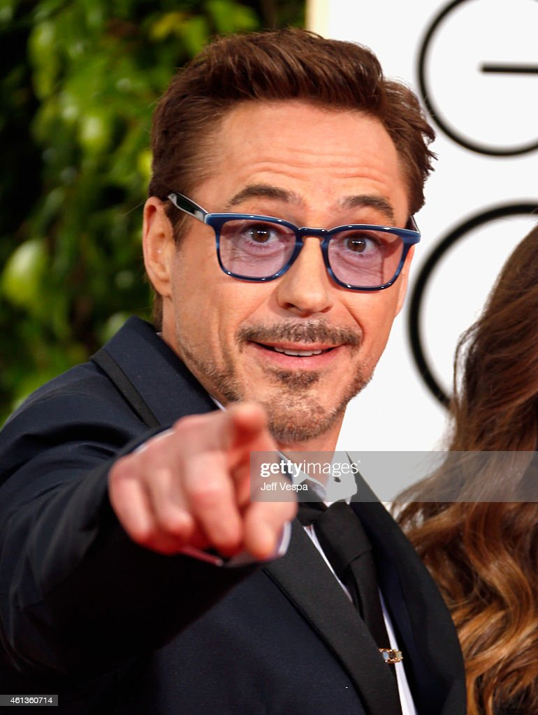 Actor <a gi-track='captionPersonalityLinkClicked' href=/galleries/search?phrase=Robert+Downey+Jr.&family=editorial&specificpeople=204137 ng-click='$event.stopPropagation()'>Robert Downey Jr.</a> attends the 72nd Annual Golden Globe Awards at The Beverly Hilton Hotel on January 11, 2015 in Beverly Hills, California.