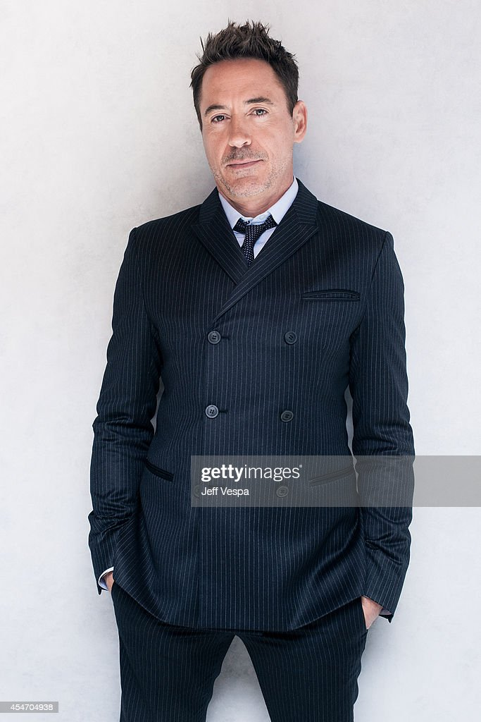 Actor <a gi-track='captionPersonalityLinkClicked' href=/galleries/search?phrase=Robert+Downey+Jr.&family=editorial&specificpeople=204137 ng-click='$event.stopPropagation()'>Robert Downey Jr.</a> is photographed for a Portrait Session at the 2014 Toronto Film Festival on September 5, 2014 in Toronto, Ontario.