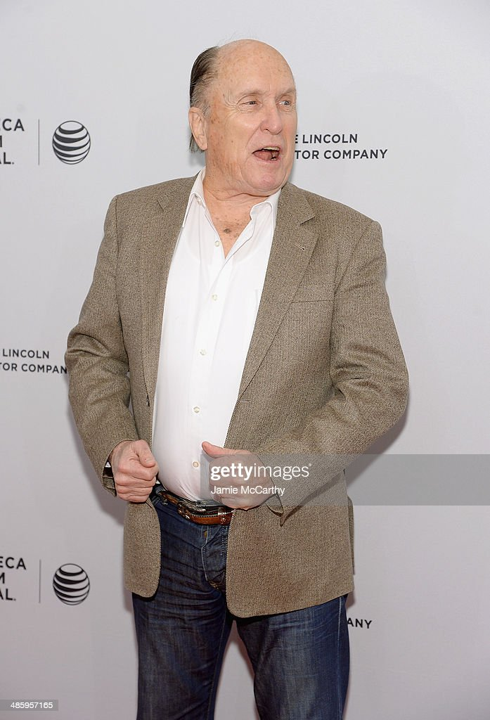 Actor <a gi-track='captionPersonalityLinkClicked' href=/galleries/search?phrase=Robert+Duvall&family=editorial&specificpeople=206637 ng-click='$event.stopPropagation()'>Robert Duvall</a> attends the 'Miss Meadows' Premiere during 2014 Tribeca Film Festival at the SVA Theater on April 21, 2014 in New York City.