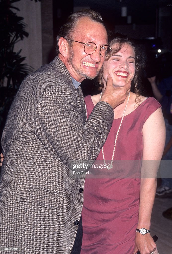 Actor Robert Englund and actress Heather Langenkamp attend the 21st Annual Saturn Awards on June 26 1995 at the JW Marriott Hotel in Century City...