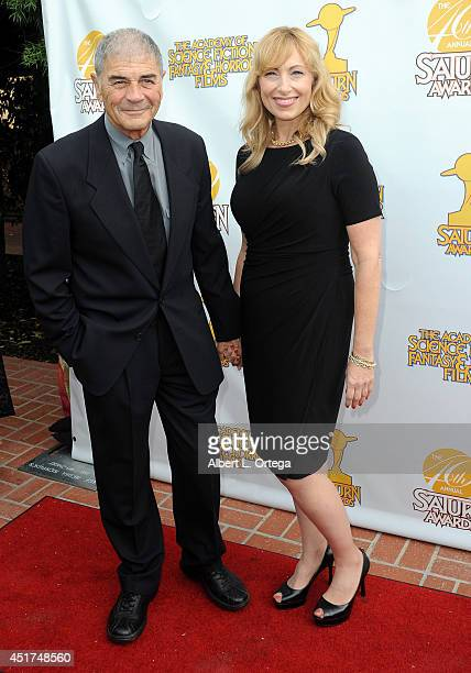 Actor Robert Forester and producer Denise Grayson arrive for the 40th Annual Saturn Awards held at The Castaway on June 26 2014 in Burbank California