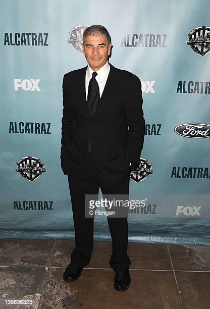 Actor Robert Forester arrives at the premiere party for FOX's new series 'Alcatraz' at Alcatraz Island on January 11 2012 in San Francisco California