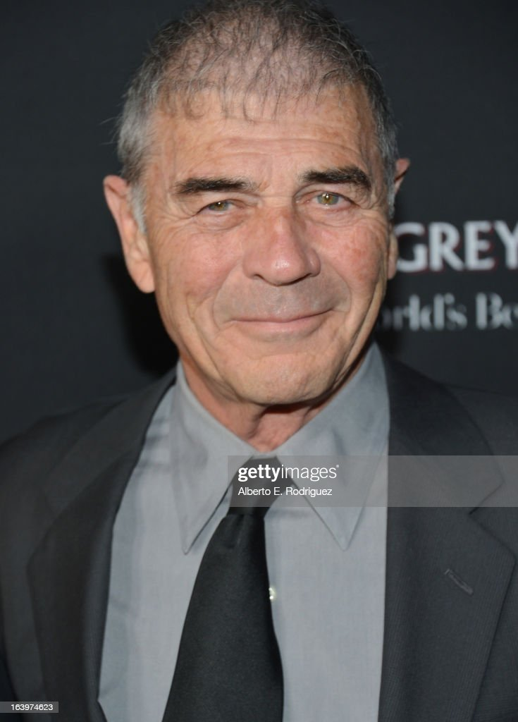 Actor Robert Forster arrives at the premiere of FilmDistrict's 'Olympus Has Fallen' at ArcLight Cinemas Cinerama Dome on March 18, 2013 in Hollywood, California.