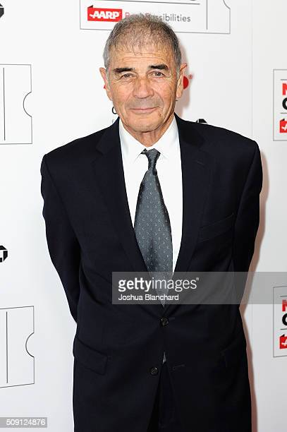 Actor Robert Forster attends AARP's Movie For GrownUps Awards at the Beverly Wilshire Four Seasons Hotel on February 8 2016 in Beverly Hills...