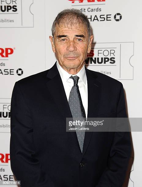Actor Robert Forster attends the 15th annual Movies For Grownups Awards at the Beverly Wilshire Four Seasons Hotel on February 8 2016 in Beverly...