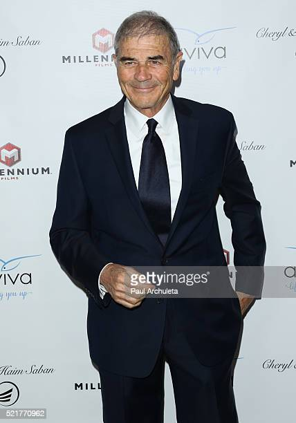 Actor Robert Forster attends the gala to honor Avi Lerner and Millennium Films at The Beverly Hills Hotel on April 16 2016 in Beverly Hills California