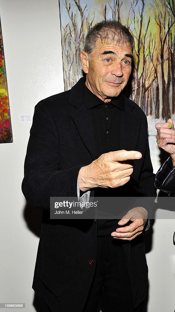 Actor Robert Forster attends the opening night of 'The Rainmaker' at Edgemar Center For The Arts on January 11, 2013 in Santa Monica, California.