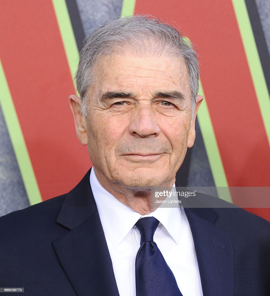 Actor Robert Forster attends the premiere of 'Twin Peaks' at Ace Hotel on May 19, 2017 in Los Angeles, California.