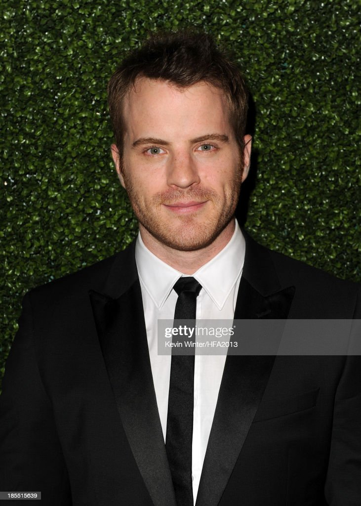 Actor Robert Kazinsky arrives at the 17th annual Hollywood Film Awards at The Beverly Hilton Hotel on October 21 2013 in Beverly Hills California