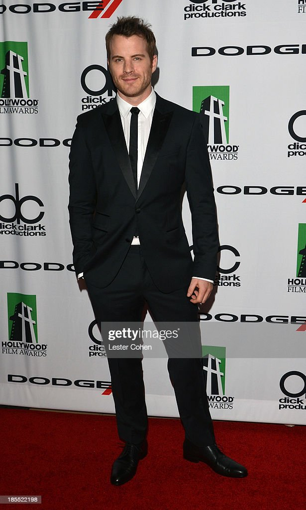 Actor Robert Kazinsky arrives at the 17th Annual Hollywood Film Awards at The Beverly Hilton Hotel on October 21, 2013 in Beverly Hills, California.