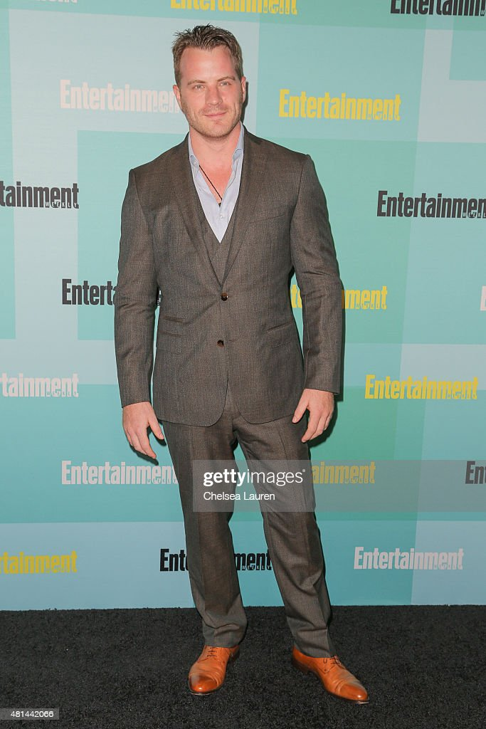 Actor Robert Kazinsky arrives at the Entertainment Weekly celebration at Float at Hard Rock Hotel San Diego on July 11 2015 in San Diego California