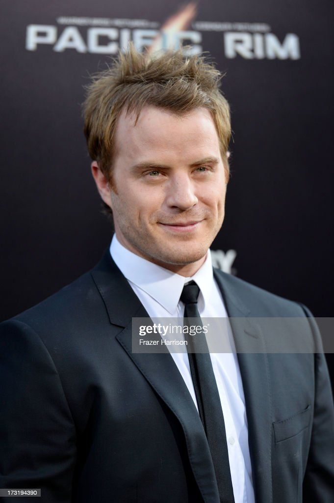Actor Robert Kazinsky arrives at the premiere of Warner Bros Pictures' and Legendary Pictures' 'Pacific Rim' at Dolby Theatre on July 9 2013 in...