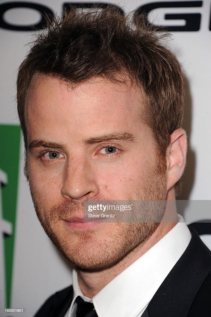 Actor Robert Kazinsky poses in the press room during the 17th Annual Hollywood Film Awards at The Beverly Hilton Hotel on October 21 2013 in Beverly...
