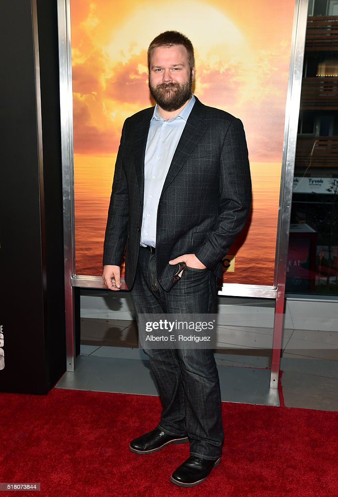 Actor Robert Kirkman attends the premiere of AMC's 'Fear The Walking Dead' Season 2 at Cinemark Playa Vista on March 29, 2016 in Los Angeles, California.