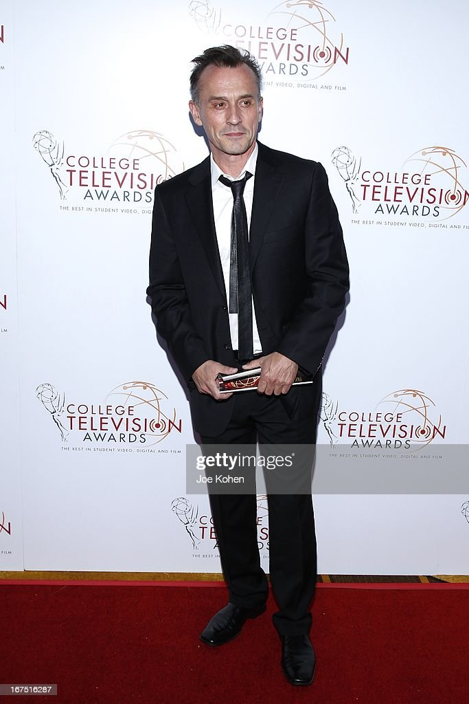 Actor <a gi-track='captionPersonalityLinkClicked' href=/galleries/search?phrase=Robert+Knepper&family=editorial&specificpeople=630261 ng-click='$event.stopPropagation()'>Robert Knepper</a> Bergeron attends the 34th College Television Awards Gala at JW Marriott Los Angeles at L.A. LIVE on April 25, 2013 in Los Angeles, California.