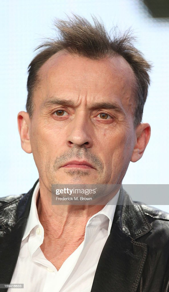 Actor Robert Knepper of the television show 'Cult' speaks during the CW Network portion of the 2013 Winter Television Critics Association Press Tour at the Langham Huntington Hotel & Spa on January 13, 2013 in Pasadena, California.