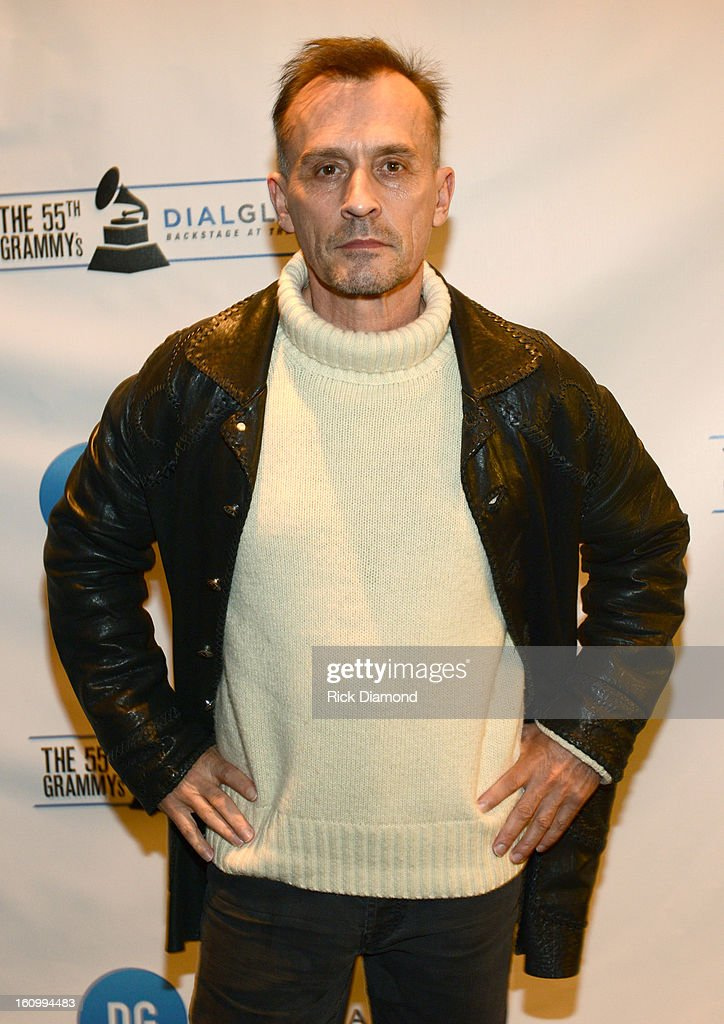 Actor <a gi-track='captionPersonalityLinkClicked' href=/galleries/search?phrase=Robert+Knepper&family=editorial&specificpeople=630261 ng-click='$event.stopPropagation()'>Robert Knepper</a> poses backstage at the GRAMMYs Dial Global Radio Remotes during The 55th Annual GRAMMY Awards at the STAPLES Center on February 8, 2013 in Los Angeles, California.