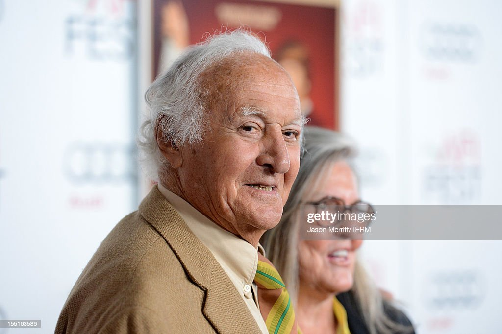 Actor Robert Loggia and wife Audrey O'Brien arrive at the premiere of 'Hitchcock' during AFI Fest 2012 presented by Audi at Grauman's Chinese Theatre...