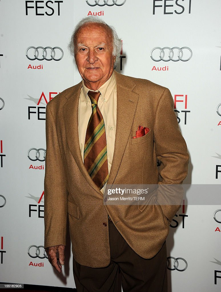 Actor Robert Loggia arrives at the premiere of 'Hitchcock' during AFI Fest 2012 presented by Audi at Grauman's Chinese Theatre on November 1 2012 in...