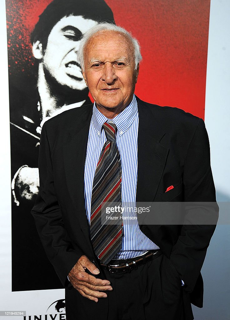 Actor Robert Loggia arrives at the release of 'Scarface' On Bluray at the Belasco Theatre on August 23 2011 in Los Angeles California