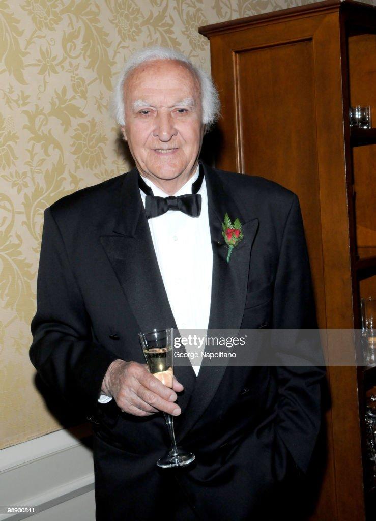 Actor Robert Loggia attends the media reception for the 25th annual Ellis Island Medals Of Honor Ceremony Gala at the National Musuem of the American...