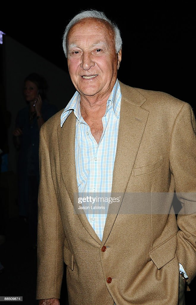 Actor Robert Loggia attends the premiere of 'Surveillance' at the Landmark Theater on June 15 2009 in Los Angeles California