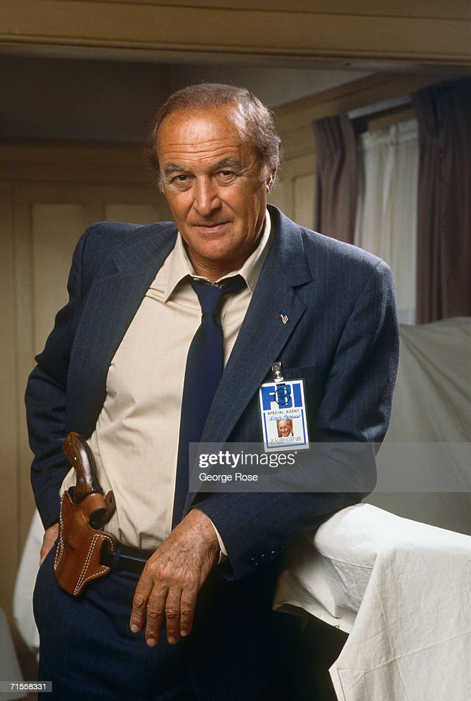 Actor Robert Loggia star of TV's 'Mancuso FBI' poses during a 1989 West Hollywood California photo portrait session Loggia was known for his...