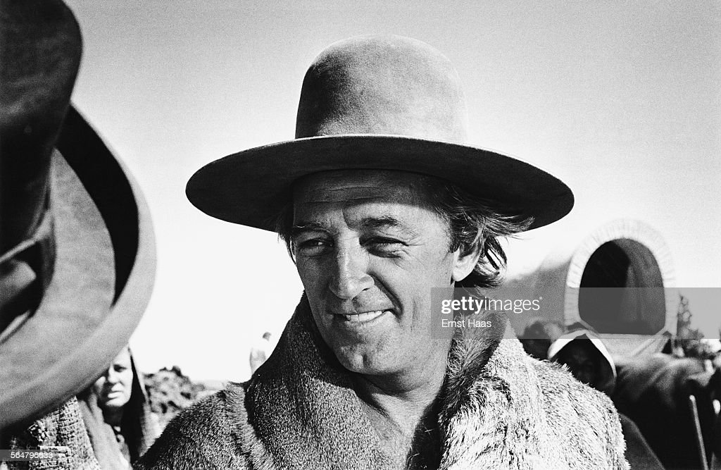 Actor <a gi-track='captionPersonalityLinkClicked' href=/galleries/search?phrase=Robert+Mitchum&family=editorial&specificpeople=206827 ng-click='$event.stopPropagation()'>Robert Mitchum</a> (1917 - 1997) stars in the film 'The Way West', directed by Andrew V. McLaglen, USA, 1967.