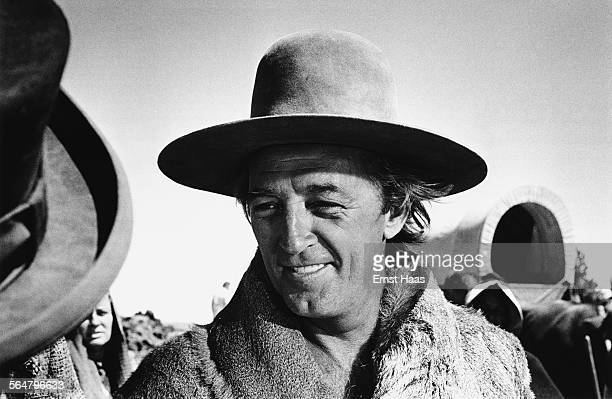 Actor Robert Mitchum stars in the film 'The Way West' directed by Andrew V McLaglen USA 1967