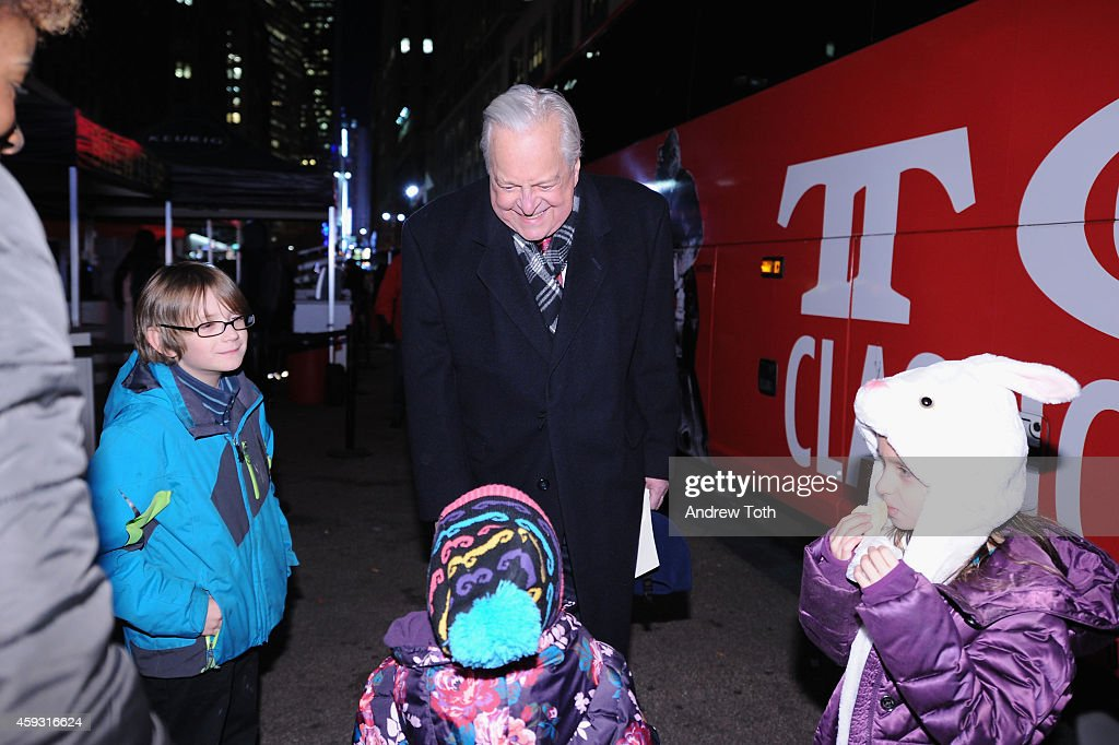 Actor Robert Osborne attends Macy's Herald Square 2014 Christmas Window Unveiling Spectacular at Macy's Herald Square on November 20 2014 in New York...
