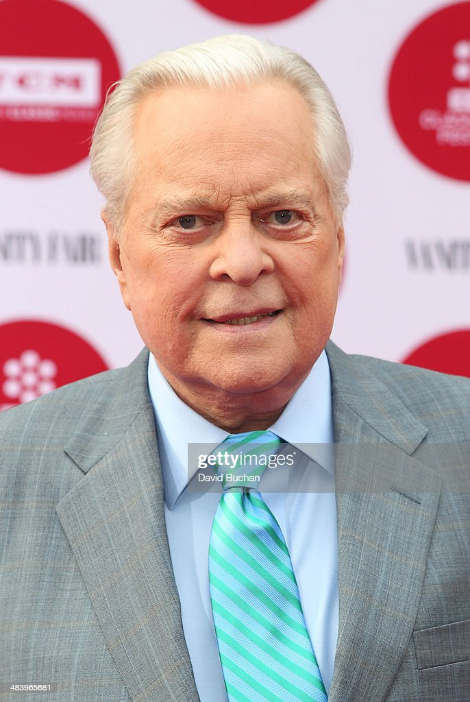 Actor Robert Osborne attends TCM Classic Film Festival opening night gala of 'Oklahoma' at TCL Chinese Theatre IMAX on April 10 2014 in Hollywood...