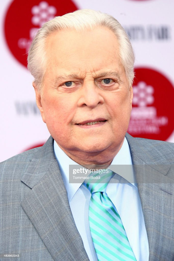Actor Robert Osborne attends the 2014 TCM Classic Film Festival opening night gala and world premiere of the restoration of 'Oklahoma' held at the...