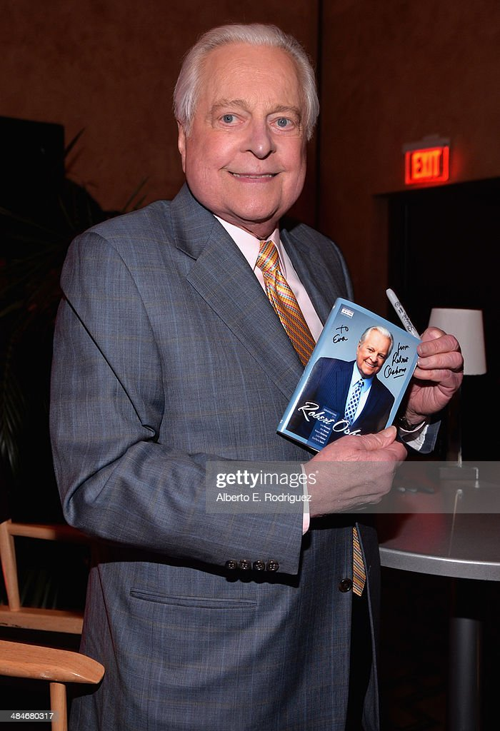 Actor Robert Osborneattends the Robert Osborne DVD Signing at The Roosevelt Hotel during the 2014 TCM Classic Film Festival on April 13 2014 in...