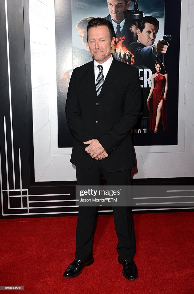 Actor Robert Patrick arrives at Warner Bros. Pictures' 'Gangster Squad' premiere at Grauman's Chinese Theatre on January 7, 2013 in Hollywood, California.