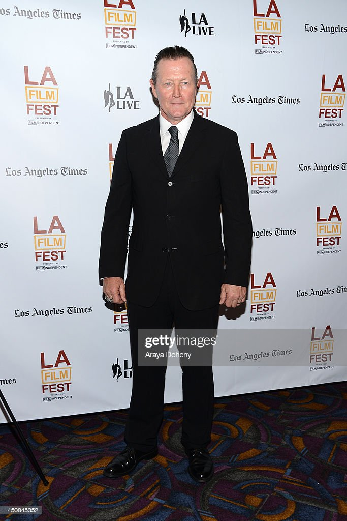Actor <a gi-track='captionPersonalityLinkClicked' href=/galleries/search?phrase=Robert+Patrick&family=editorial&specificpeople=243027 ng-click='$event.stopPropagation()'>Robert Patrick</a> attends the premiere of 'The Road Within' during the 2014 Los Angeles Film Festival at Regal Cinemas L.A. Live on June 18, 2014 in Los Angeles, California.