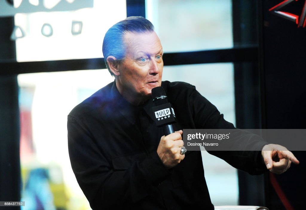 Actor Robert Patrick visits Build Studio to discuss 'Scorpion' and 'Lore' on October 6, 2017 in New York City.