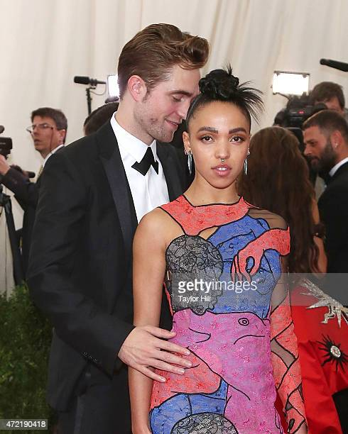 Actor Robert Pattinson and FKA Twigs attend 'China Through the Looking Glass' the 2015 Costume Institute Gala at Metropolitan Museum of Art on May 4...