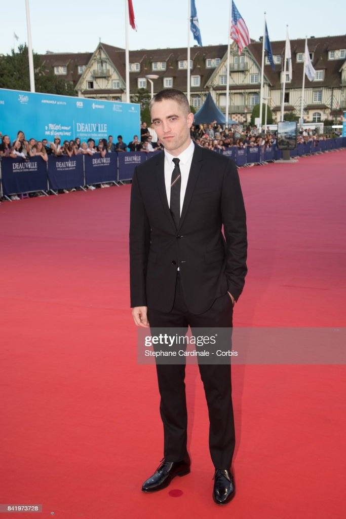 Actor Robert Pattinson arrives at the Achievement Tribute Award Ceremony to Robert Pattinson and 'Good Time' Premiere during the 43rd Deauville American Film Festival on September 2, 2017 in Deauville, France.