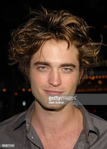 Actor Robert Pattinson arrives at the Los Angeles premiere of 'Sex Drive' on October 15 2008 in Westwood California