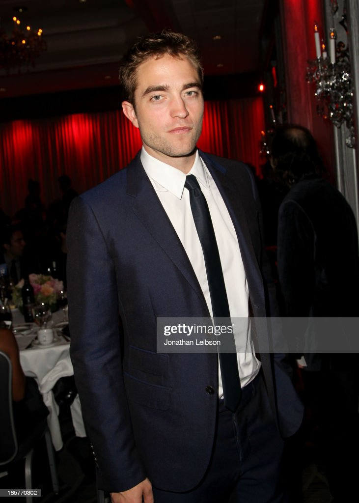 Actor <a gi-track='captionPersonalityLinkClicked' href=/galleries/search?phrase=Robert+Pattinson&family=editorial&specificpeople=734445 ng-click='$event.stopPropagation()'>Robert Pattinson</a> attends the 2nd Annual Australians in Film Awards Gala at Intercontinental Hotel on October 24, 2013 in Beverly Hills, California.