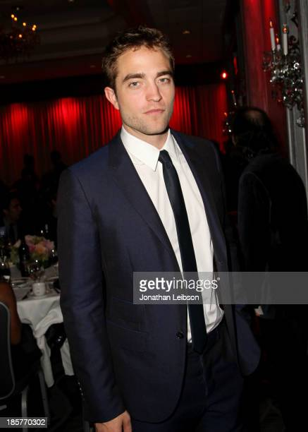 Actor Robert Pattinson attends the 2nd Annual Australians in Film Awards Gala at Intercontinental Hotel on October 24 2013 in Beverly Hills California