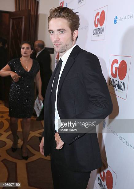 Actor Robert Pattinson attends the 8th Annual GO Campaign Gala at Montage Beverly Hills on November 12 2015 in Beverly Hills California