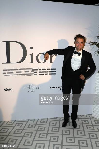Actor Robert Pattinson attends the 'Good Time' after party at Club Albane during the 70th annual Cannes Film Festival at Club Albane on May 25 2017...