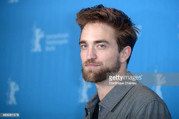 Actor Robert Pattinson attends the 'Life' photocall during the 65th Berlinale International Film Festival at Grand Hyatt Hotel on February 9 2015 in...
