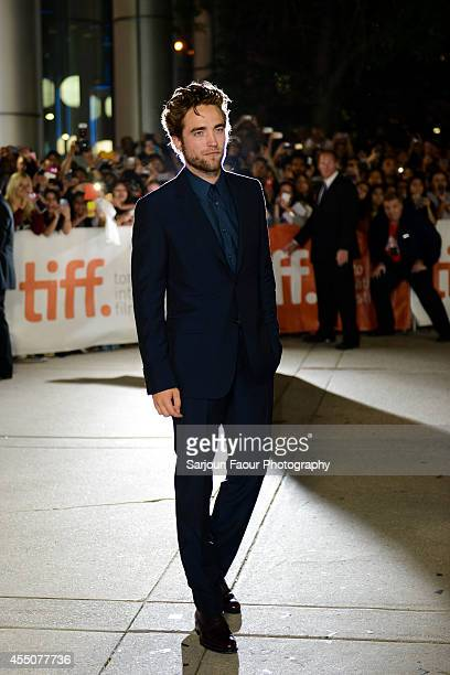 Actor Robert Pattinson attends the 'Maps to the Stars' premiere during the 2014 Toronto International Film Festival at Roy Thomson Hall on September...