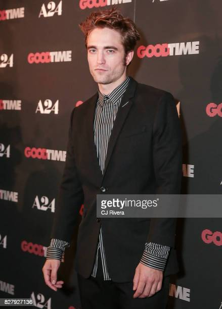 Actor Robert Pattinson attends the New York premiere of 'Good Time' at SVA Theater on August 8 2017 in New York City