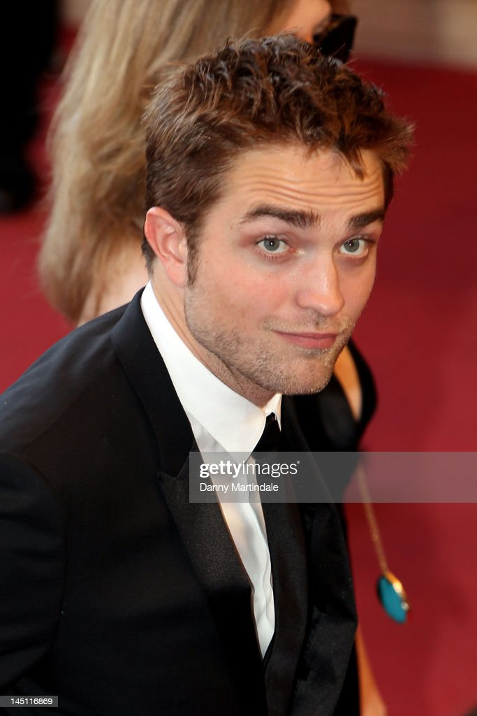 Actor <a gi-track='captionPersonalityLinkClicked' href=/galleries/search?phrase=Robert+Pattinson&family=editorial&specificpeople=734445 ng-click='$event.stopPropagation()'>Robert Pattinson</a> attends the 'On The Road' Premiere during the 65th Annual Cannes Film Festival at Palais des Festivals on May 23, 2012 in Cannes, France.