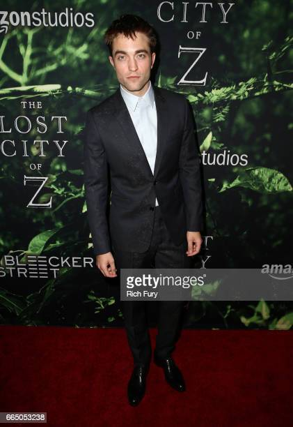 Actor Robert Pattinson attends the premiere of Amazon Studios' 'The Lost City Of Z' at ArcLight Hollywood on April 5 2017 in Hollywood California