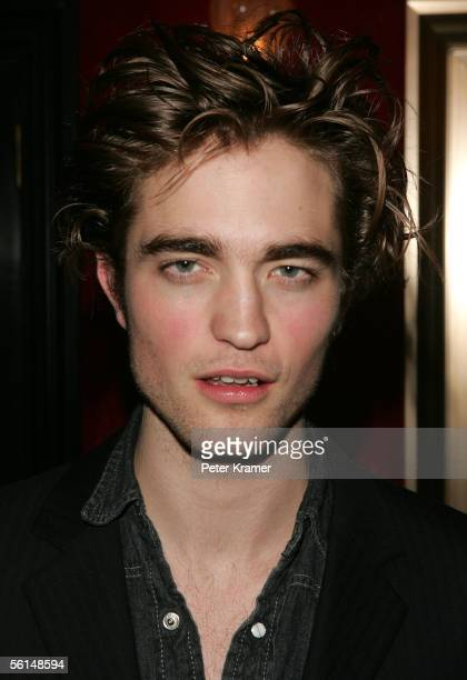 Actor Robert Pattinson attends the premiere of 'Harry Potter and the Goblet of Fire' on November 12 2005 in New York City