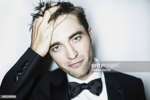 Actor Robert Pattinson is photographed on May 25 2017 in Cannes France